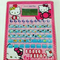 Mainan Anak Elektronik Play Pad Hello Kitty