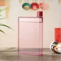 [esiafone lifestyle] MEMOBOTTLE A5 Letter Reusable Water Bottles 420ml / Botol Minum Pocket Bottle