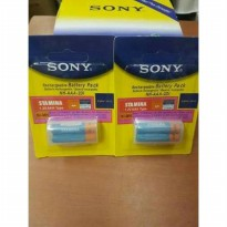 Baterai Sony Stamin AAA A3 Cas Rechargeable Isi Ulang isi 2 Pcs