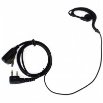 BAOFENG 2-pin Earset Microphone PTT for Walkie Talkie