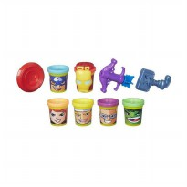 Playdoh B5528 Marvel Heroes Assemble with Can-Heads Set Mainan Anak