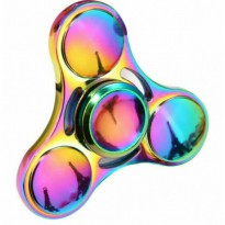 Hand Spinner Rainbow Series Bahan Metal