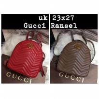 TAS GUCCI MARMONT BACKPACK