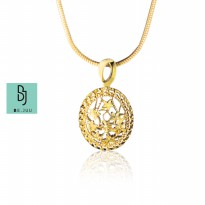 BE.JUU Kalung Winter Flower Korean Jewelry