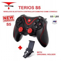 Terios S5 Gamepad Wireless Bluetooth Joystick Controller With Holder