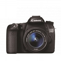 Canon EOS 70D Kit 18-55mm IS STM Wifi - Hitam