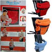 Gendongan bayi 4in1 Chuan Queen Chuan Que Baby Carrier