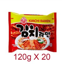Kimichi Ramen [Made in KOREA][120g x 20][Ottogi]