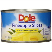 [macyskorea] Dole Pineapple Slices in Juice, 8 Ounce Cans (Pack of 12)/8889487