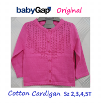 CAGA10 - Cardigan Baby Gap Original. Full Button