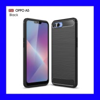 Oppo Realme C1 - Carbon Armor TPU Soft Case Casing Cover