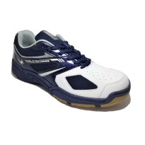 Eagle Optimum Sepatu Badminton White Navy