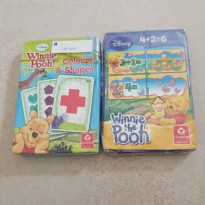 Winnie the pooh Matematika Counting game Colours & shapes Cartamundi
