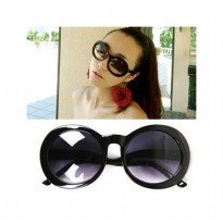 HO2446 - Kacamata Fashion Korea ( Hitam ) #C58