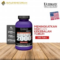 UN Ultimate Nutrition Amino 2000 Protein Isolate 150 Tabs