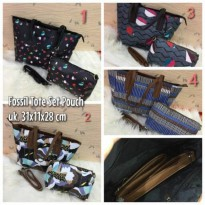 TAS FOSSIL TOTE SET POUCH