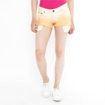 Mobile Power Ladies Ombre Short Pants - Yellow Orange K5517