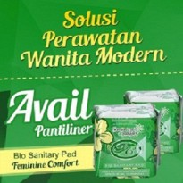 Avail Pantyliner Hijau (Pembalut Herbal)
