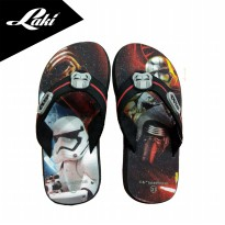 Laki-Star Wars A Series Flip-Flop Sandal Swh-Eva003 - Grey-Red