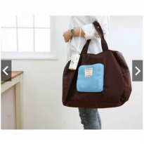 Street Shopper Bag Tas Belanja Lipat Shop Barang Shoping Bag in Wallet