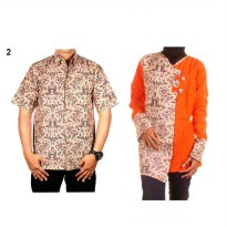 Baju Batik Couple / Sarimbit Model Blus ~ Fouriza