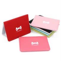 3Pcs Dompet Kartu Motif Pita - Cute Ribbon (*Random Color)