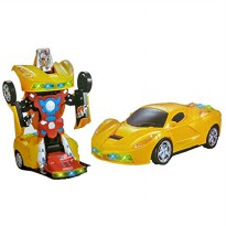 Mobil Robot BO 2 in 1 - Mainan Mobil Robot Anak - Ages 3+