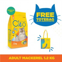 CPPETINDO Cleo Mackerel Adult Cat Food [1.2 kg]