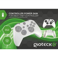 [poledit] Gioteck Controller Skin Plus White with Built-In Battery - Xbox One (R1)/12508799