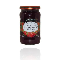 Selai Import/ Selai Mackays Scottish Strawberry Preserve/ Selai In Jar