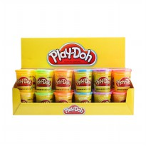 Play-Doh Modeling Compound Cans 24 Pack Mainan Anak
