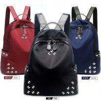 High Quality - Best Seller - Tas Import Ransel Fashion Nylon Water resist - atdiva