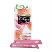 Koplina Puru Puru Collagen Jelly ( Peach Juice ) BPOM - 70 gram