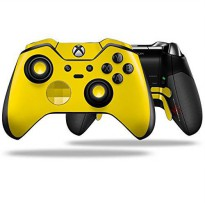 [poledit] WraptorSkinz Solids Collection Yellow - Decal Style Skin fits Microsoft XBOX One/12508022