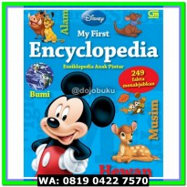 (Diskon) My First Encyclopedia : Ensiklopedia Anak Pintar (Disney)