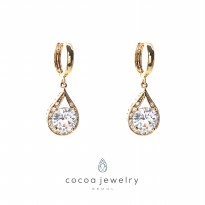 Cocoa Jewelry Anting Rolling in the Diamond