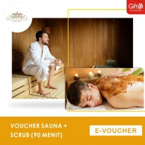 The Prima Hotel Cafe & Spa Sauna + Scrub (90 menit)