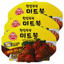Satisfaction Excellence Ottogi) oven for bite-jerk meatballs 180g x 6 개 simple domestic chicken snacks