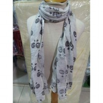 Zara Scarf bubble-white