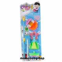 Cleaning Set 3326-D - Mainan Little Helper Pembersih Rumah - Ages 3+