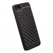 Krusell Alu Cover Casing for iPhone 5 or 5s - Black Grid