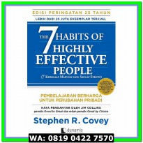(Murah) The 7 Habits of Highly Effective People :25 years . Stephen
