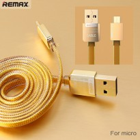 Remax Cable Data & Charging Special Edition Gold series for Micro USB