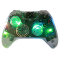 [poledit] `Clear Illuminating` Xbox One Rapid Fire Modded Controller PRO Finish 40 Mods fo/12633240