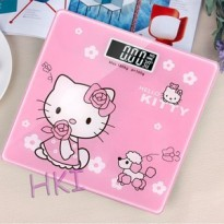 Timbangan badan DIgital Hello Kitty 180 kg ( doraemon gantung )
