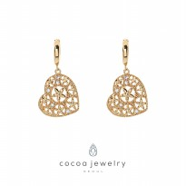 Cocoa Jewelry Anting Love in Summer Storm