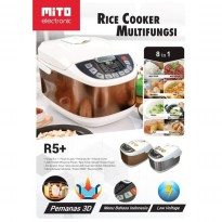 Mito Digital Rice Cooker 8in1