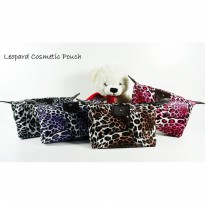 Beli 1 Gratis 1 (Leopard) Pouch Tas Kosmetik Bag Make Up Body Lotion Aksesoris