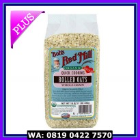 (Makanan Diet) BRM Organic Quick Cooking Rolled Oats