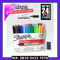 #Spidol Warna Sharpie Fine Point UPC Set of 24